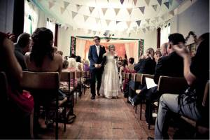 Wedding Day at the Hall