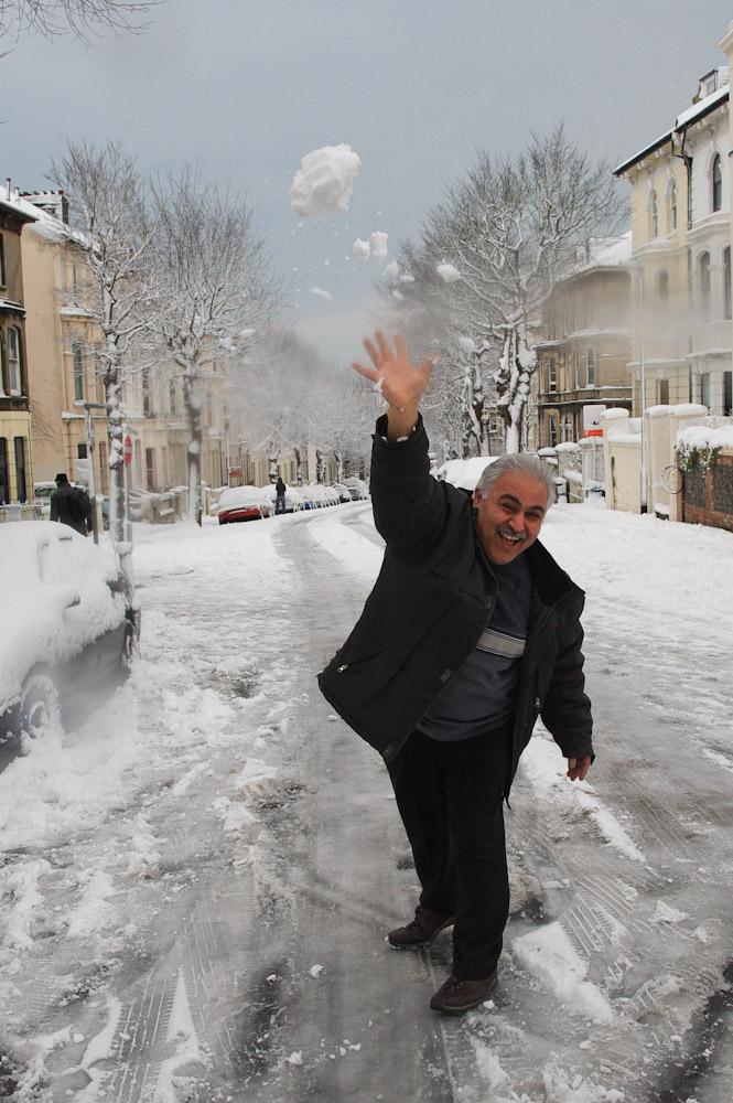 West Hill N-ice Man - Photo by Mark Baynes