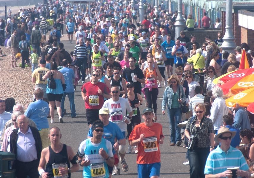 Brighton Marathon 2010