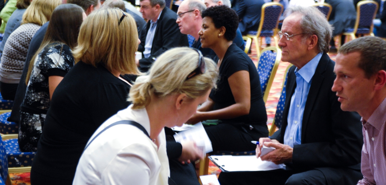 Speed Networking in action