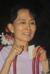 Aung San Suu Kyi  - credit Burma Campaign UK