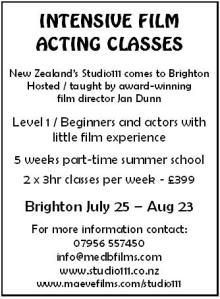 Film Acting Classes