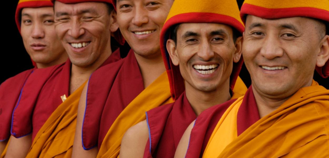 Tibetan Monks of Tashi Lhunpo Monastery