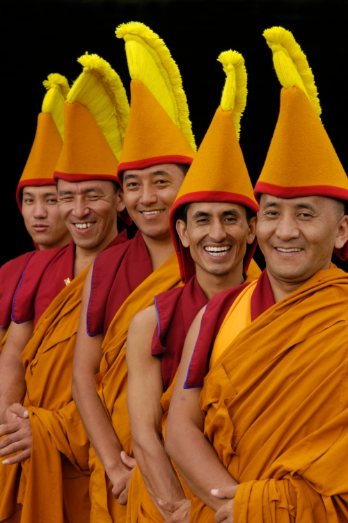 Tibetan Monks of Tashi Lhunpo Monastery