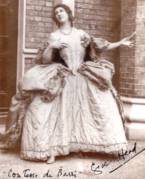"""Comtesse du Barry character in """"Fete de France"""""""