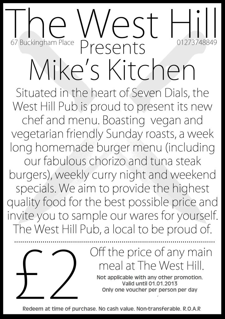 Mike's Kitchen at West Hill