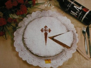 torta di santiago