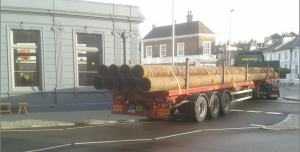 lorry at seven dials