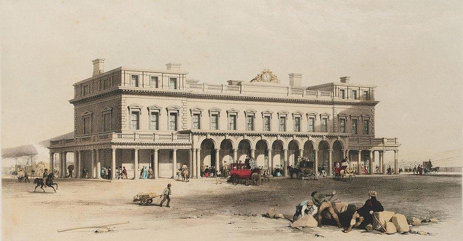 Brighton Station 1840