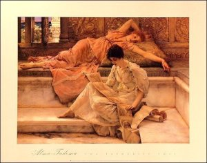 Alma Tadema 'Love's Votaries'