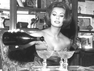 Sophia Loren pours cold champagne on the Marie Antoinette myth