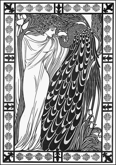 This image is by Will Bradley, a contemporary of Aubrey Beardsley